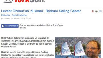 Turksail.com'da hakkımızda çıkan haber